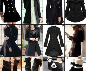 coat, shoes, and women fashion image