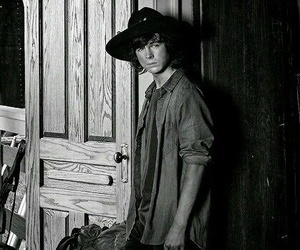 chandler riggs and carl grimes image