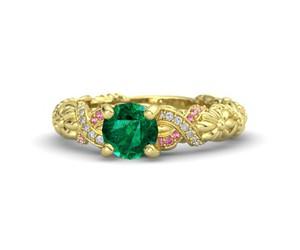 disney, emerald, and engagement image
