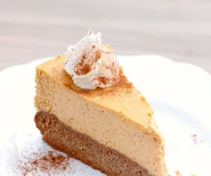 autumn, cheesecake, and delicious image