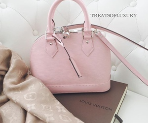 pink, bag, and luxury image
