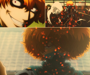 cool, gintama, and strong image