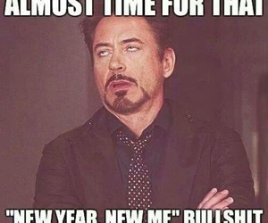 new year, funny, and new me image