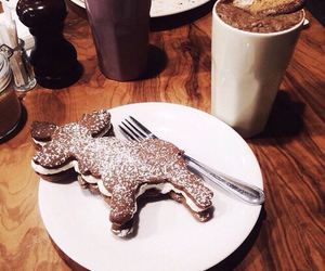 food, christmas, and chocolate image