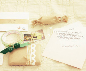 gift, package, and present image