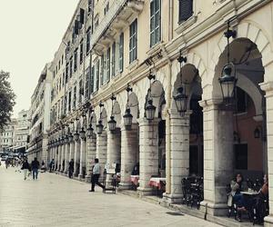 beautiful, corfu, and destinations image