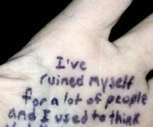 ruined myself for people image