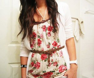 fashion, cute, and brunette image