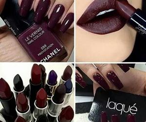 nails, makeup, and beauty image