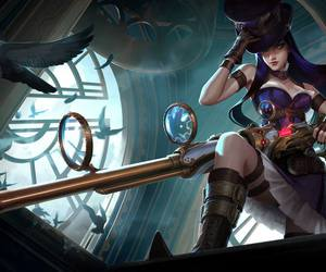 league of legends, caitlyn, and lol image