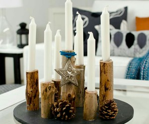 déco, candles, and design image