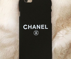 black, chanel, and cover image