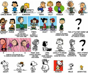 disney, peanuts, and snoopy image