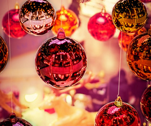 christmas and ornaments image