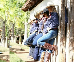 boots, cowgirls, and friendship image