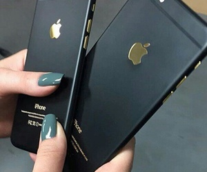cases, iphone, and iphone black image