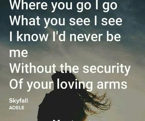Adele and skyfall image