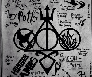 harry potter, draw, and divergent image