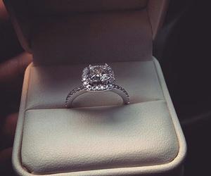 ring, luxury, and diamond image