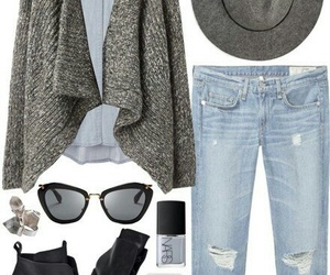 outfit, fashion, and nars image