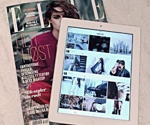 Elle, ipad, and love image