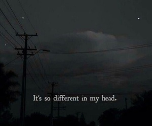 different, quotes, and sad image