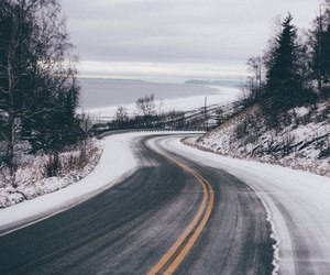 nature, road, and trevel image