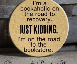 bookstore, road, and bookaholic image