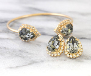bling, etsy, and bridal jewelry image