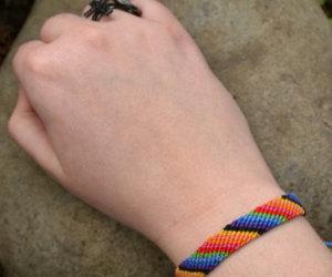 etsy, stocking stuffer, and woven bracelet image