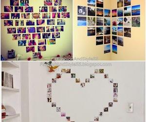 diy, heart, and photos image