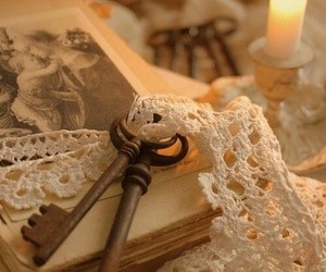 key and candle image