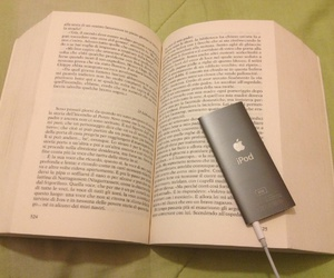book, books, and ipod image