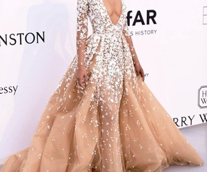 dress, fashion, and Chanel Iman image