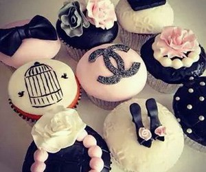 cupcake, chanel, and pink image
