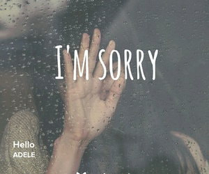 Adele, hello, and imsorry image