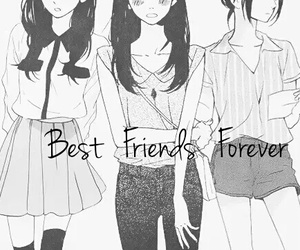 Best, forever, and friends image