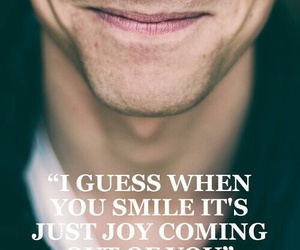 tom hiddleston, quote, and smile image