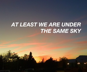 colors, sunset, and quotes image
