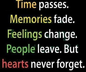 quote, memories, and people image