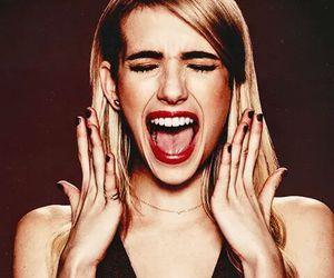 emma roberts, actress, and scream queens image