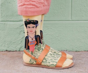 socks, Frida, and style image
