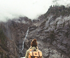 freedom, mountains, and travel image