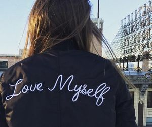 love myself, jacket, and myself image