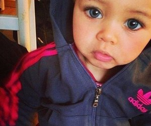 baby, cute, and adidas image