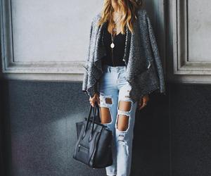 black, fashion, and bag image