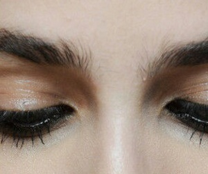 beautiful, beauty, and lashes image