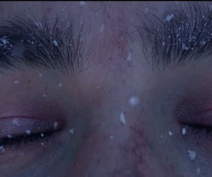 grunge, cold, and eyes image