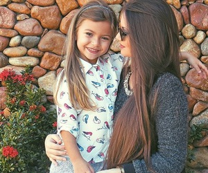 girl, child, and love image