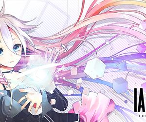 anime girl, draw, and light image